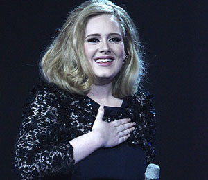 Adele Pulls an M.I.A. -- Flips the Bird at Brit Awards