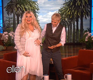 Video! Jessica Simpson on Big Baby Bump: The Daddy is Big