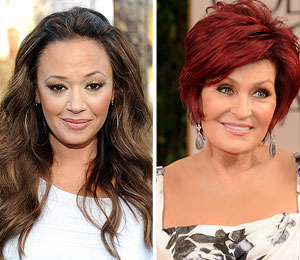 Leah Remini and Sharon Osbourne in Bitter Twitter Feud over 'Talk' Firing