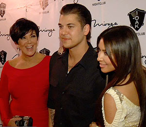 Video! Rob Kardashian Turns 25, Las Vegas Style