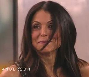 Video! Bethenny Frankel's Wardrobe Malfunction on 'Anderson'