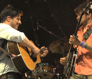 Video! Mumford & Sons' Jam Session in Austin