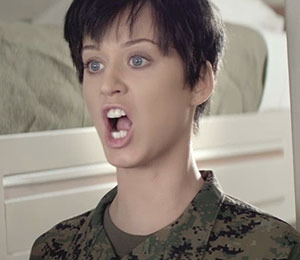 Katy Perry Goes G.I. Jane in New Music Video