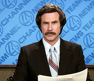 Video! Ron Burgundy is Ready for an 'Anchorman' Sequel