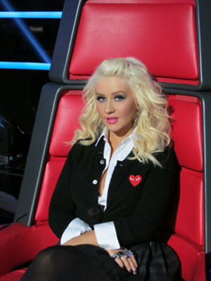 Extra Scoop: Christina Aguilera Loved Playing 'Naughty Schoolgirl' on 'The Voice'