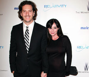 Shannen Doherty Surprises Her Man with a Prenup