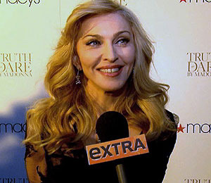Madonna Plays 'Truth or Dare' with 'Extra'