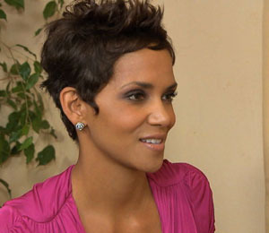 Halle Berry at the Jenesse Center's Silver Rose Gala