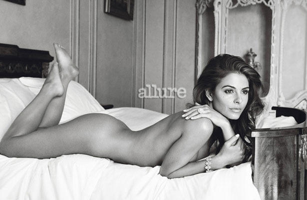 Maria Menounos Sizzles in Nude Photo for Allure