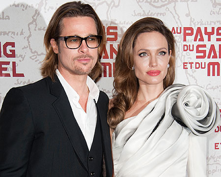 Brangelina Brood Celebrates Engagement in the Galapagos Islands