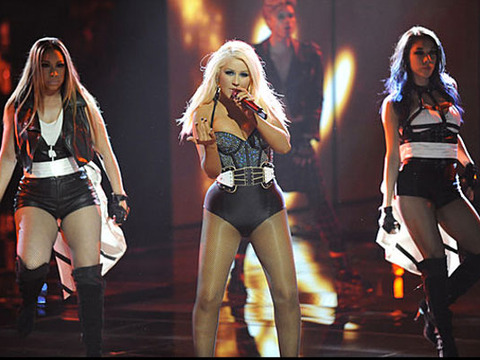 Christina Aguilera on Her Sexy Look: I Always 'Bring It on Stage'
