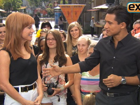 Kathy Griffin Lets Loose at The Grove!