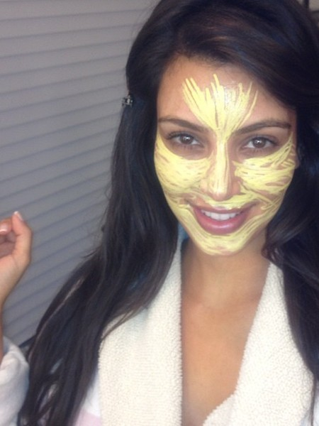 Pic! Kim Kardashian: Before and after Makeup
