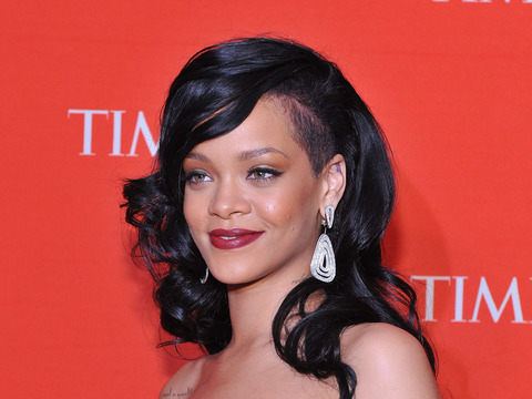 Rihanna Says She's Interested in Playing Whitney Houston
