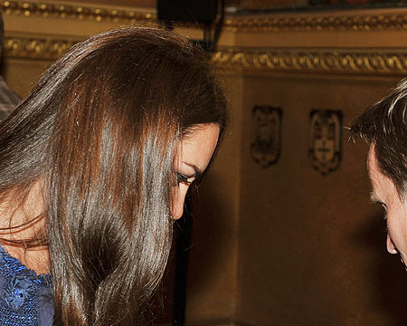 Video! Kate Middleton and Prince William Coo over Baby