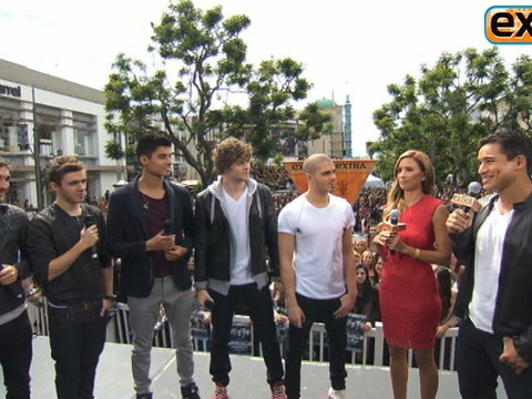 The Wanted Wants to Serenade Mila Kunis