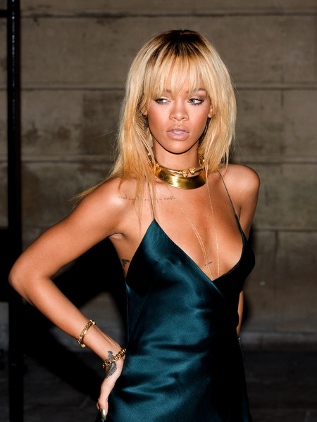 Rihanna's X-Rated Night with Strippers