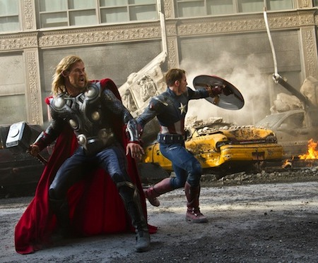 'The Avengers' Smashes Opening Weekend Record
