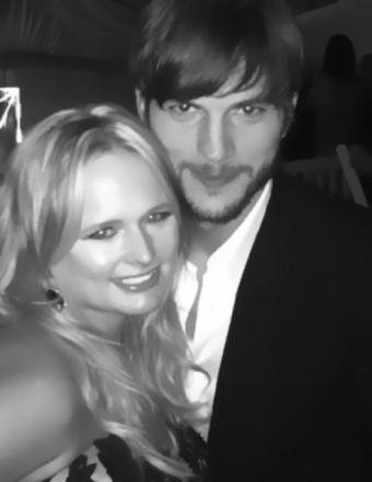 Ashton Kutcher and Miranda Lambert Call Truce in Feud