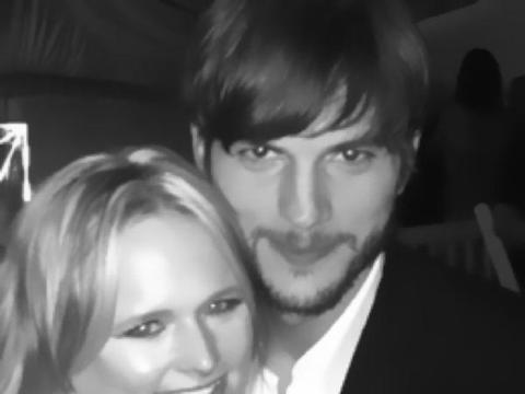Ashton Kutcher and Miranda Lambert Call Truce in Feud