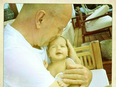 Cute Alert! Emma Heming & Bruce Willis Reveal Baby's Pic
