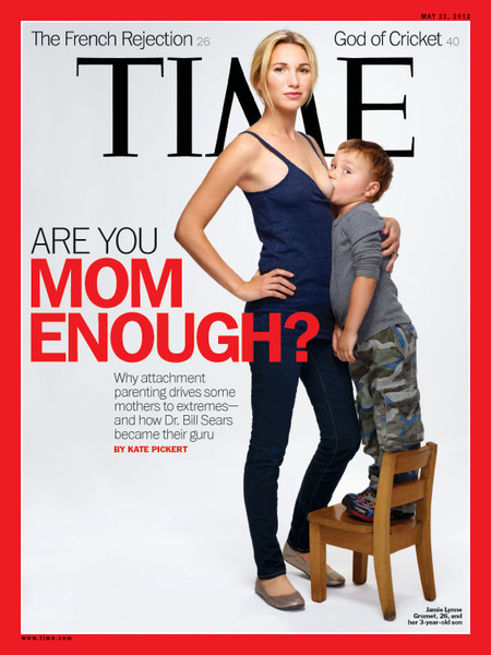Time Magazine Breast-Feeding Cover Sparks Controversy