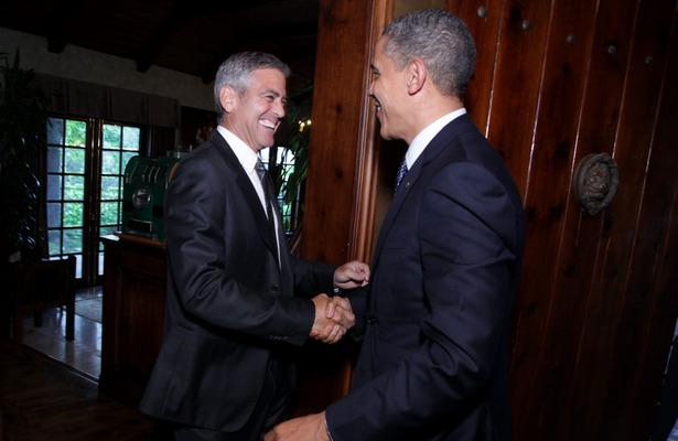 President Obama Parties with Clooney: All the Details