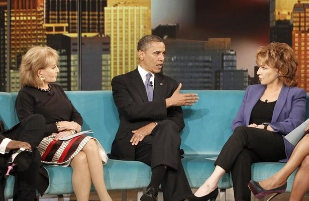 President Obama on 'The View': Gay Marriage, Bad Banks and 'Fifty Shades of Grey'