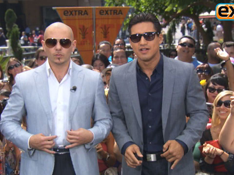 'Extra' Raw! Pitbull Talks #1 Hits and 'MIB 3'