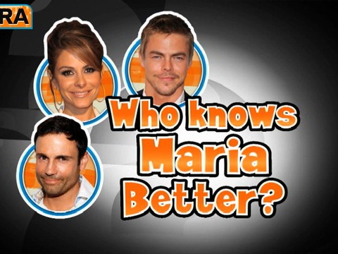 Who Knows Maria Best? Her BF or Derek Hough?