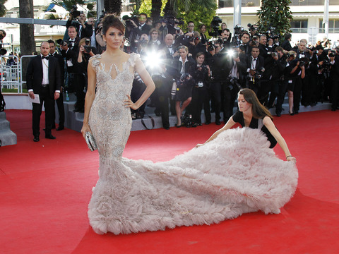 Eva Longoria Rules Red Carpet at Cannes