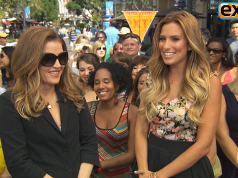 'Extra' Raw! Lisa Marie Presley at The Grove