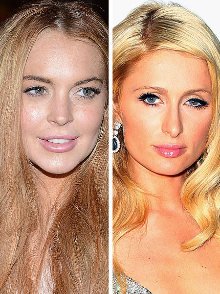 Lindsay, Sam and Paris Pull a Party All-Nighter