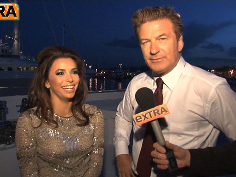 Alec Baldwin to Eva Longoria: 'You Are the World's Hottest Girl Scout'