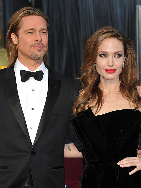 Angelina Jolie, Brad Pitt and Kids Enjoy Getaway in France