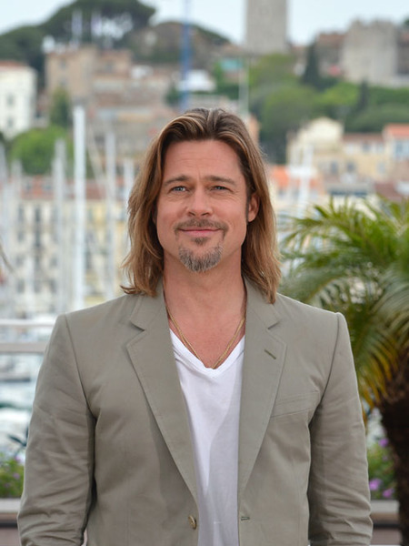 Brad Pitt Pressed on Wedding at Cannes Presser