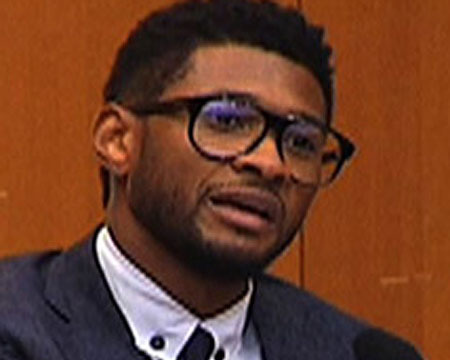 Usher Accused of Sleeping with a Bridesmaid