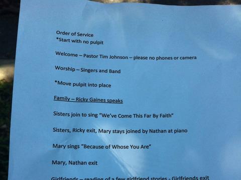 Memorial Services Held for Donna Summer in Nashville