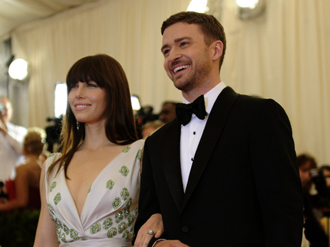 Justin Timberlake and Jessica Biel Celebrate Engagement