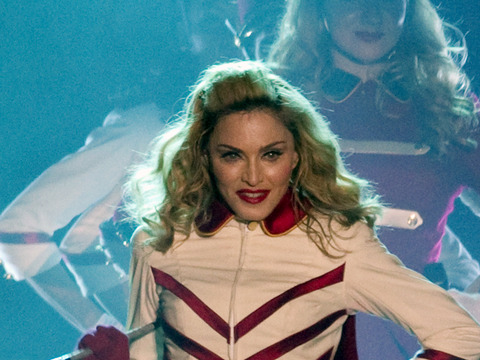 Photos! Madonna Debuts Her 'MDNA' World Tour