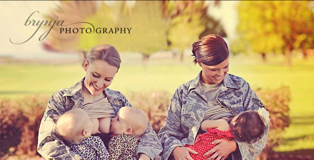 Military Moms Spark Breast-Feeding Controversy