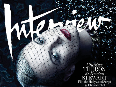Pics! Charlize Theron and Kristen Stewart Vamp It Up