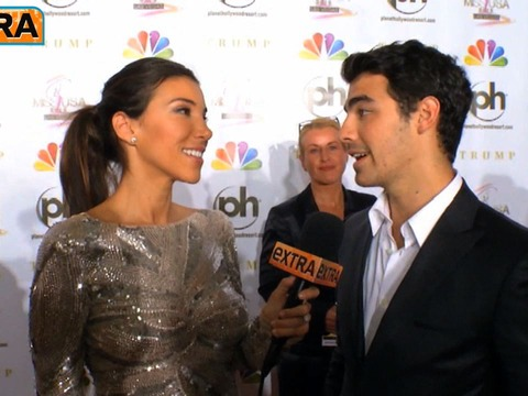 Joe Jonas and Others at the Miss USA Competition