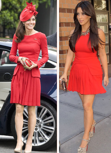 Kate Middleton vs. Kim K: Battle of McQueen
