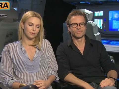 Charlize Theron Feels Unbound from Son While Promoting 'Prometheus'