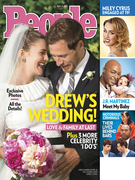 Drew Barrymore: The Wedding Was 'Perfect'