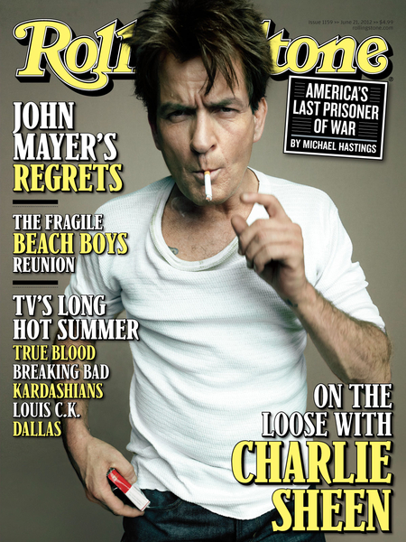 Charlie Sheen on Being Fired, Foot Fetishes, and Falling Off the Wagon