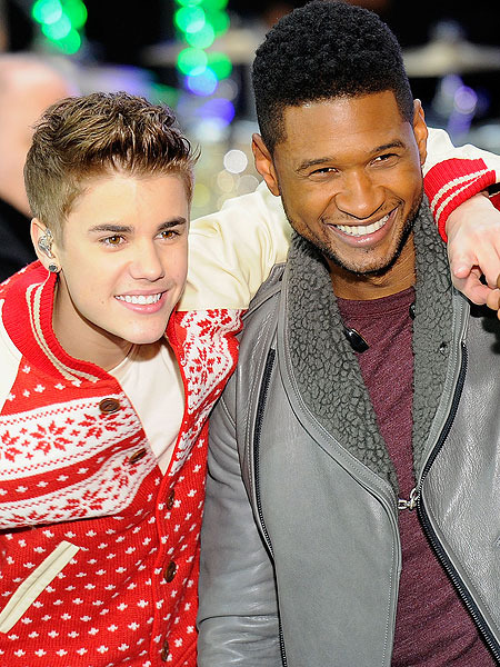 Usher Gives Paparazzi Advice to Justin Bieber