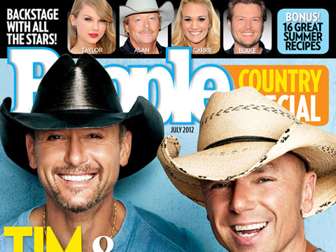 Video! People Goes Behind the Scenes with Tim McGraw and Kenny Chesney