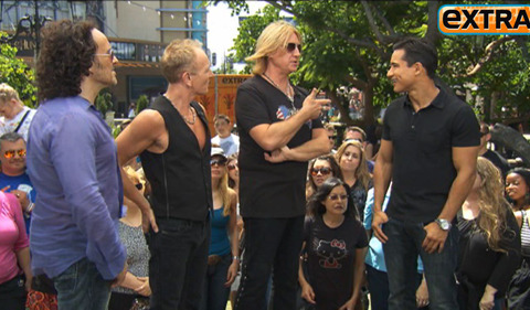 Def Leppard: Tom Cruise is 'Amazing' in 'Rock of Ages'